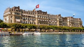 """Hotelcard"" Grand Hotel National, Luzern, Switzerland (CH)"